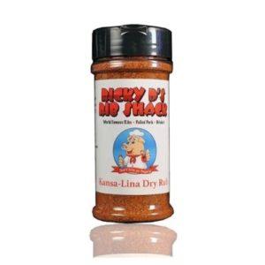 Kansa-Lina Dry Rub (2 bottles)